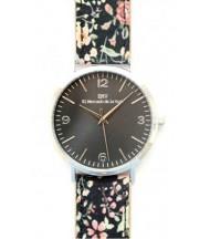 Reloj EMV S14 liberty plata y negro