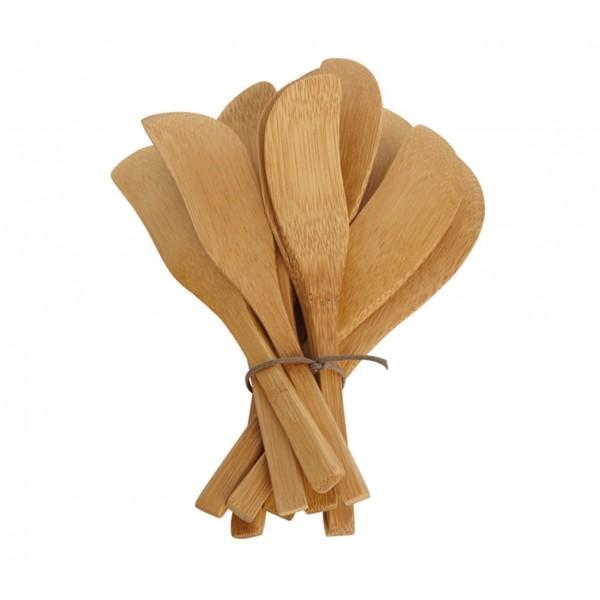 Cuchillos de untar de bamb el mercado de la vida for Cuchillo de untar mantequilla