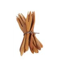 Tenedorcitos de picar de bambú