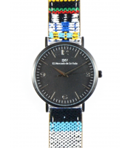Reloj EMV S14 navajo V negro y negro