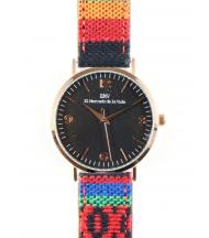 Reloj EMV S14 navajo VII oro y negro