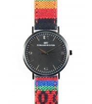 Reloj EMV S14 navajo VII negro y negro