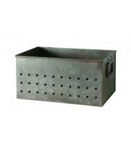 Caja de hierro industrial pequeña