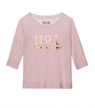 Sudadera rosa melange Nº1 EMV Limited