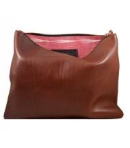 Brown messaggero purse