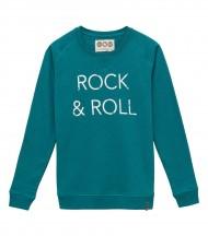 Sudadera Rock an Roll verde EMV