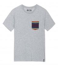 Camiseta Gris Bolsillo Navajo EMV