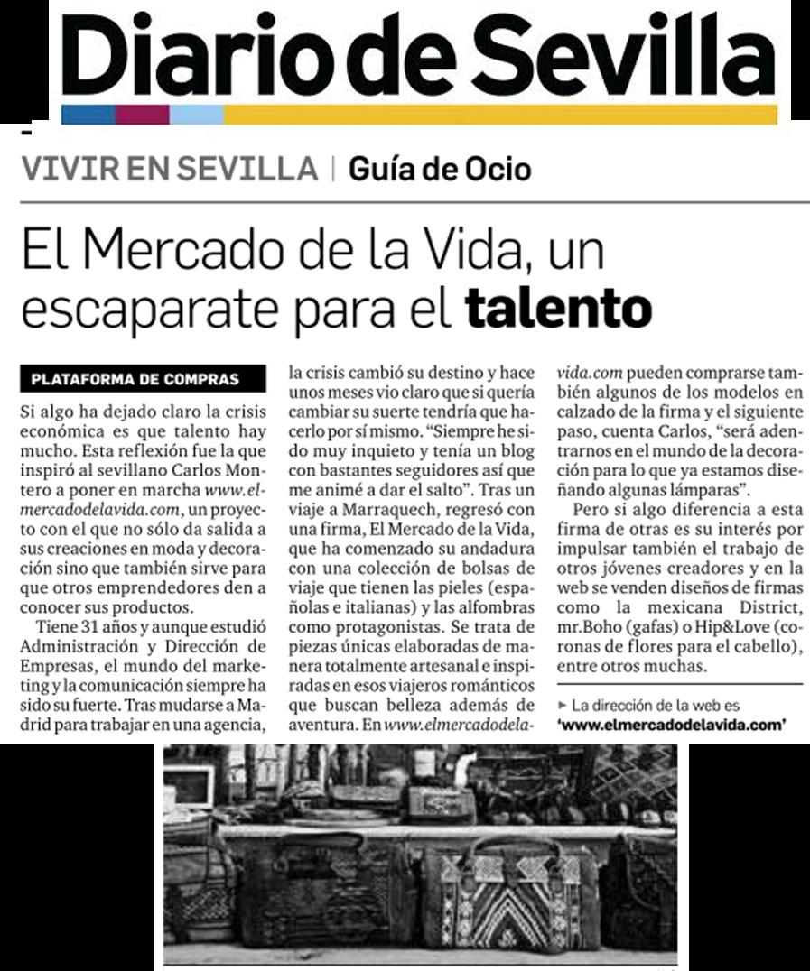 El Mercado de la Vida en Diario de Sevilla
