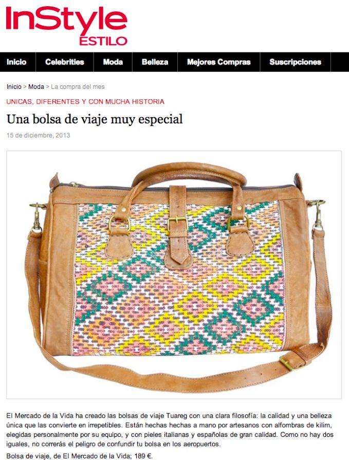 InStyle bolsa de viaje Tuareg de El Mercado de la Vida