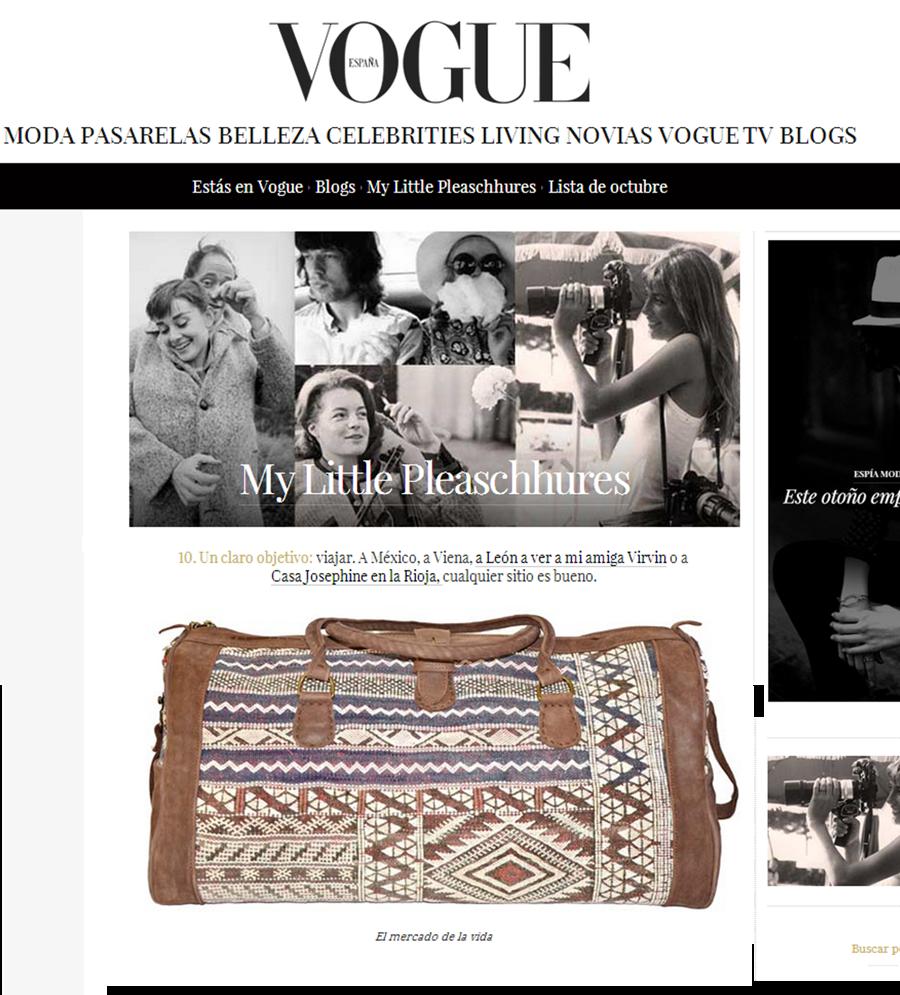El Mercado de la Vida en Vogue - My Little Pleaschhures