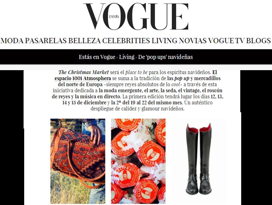 El Mercado de la Vida en Vogue