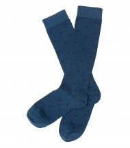 Calcetines largos EMV azul pato estrellas azul marino