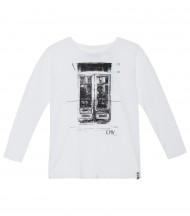 Camiseta manga Calavera EMV